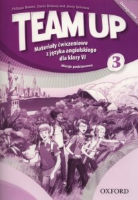 Team Up 3. Szkoła podstawowa. Materiały ćwiczeniowe, wersja podstawowa - okładka podręcznika