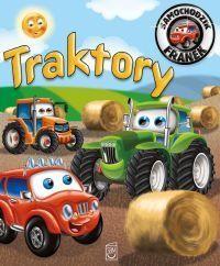 Traktory. Samochodzik Franek - okładka książki