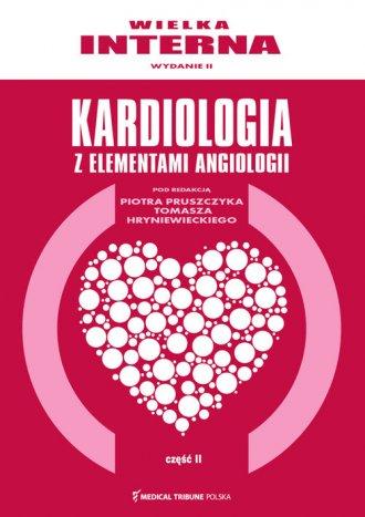 Wielka interna kardiologiczna cz. - okładka książki