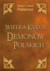 Wielka Księga Demonów Polskich - okładka książki