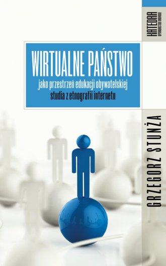 Wirtualne państwo jako przestrzeń - okładka książki