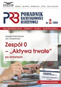 Zespół 0 - Aktywa twarde po zmianach. Poradnik Rachunkowości Budzetowej 2/2018 - okładka książki