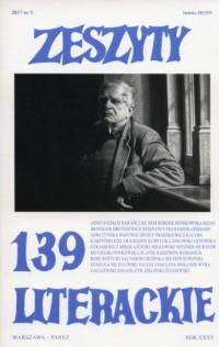 Zeszyty literackie 139/3/2017 - okładka książki