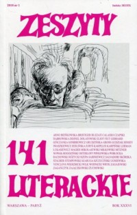Zeszyty literackie 141/1/2018 - okładka książki