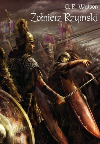 Żołnierz rzymski - okładka książki