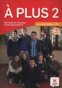 A Plus 2 Livre de leleve (+ CD) - okładka podręcznika