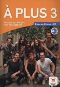 A Plus 3 Livre de leleve (+ CD) - okładka książki