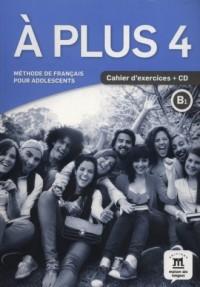 A Plus 4 Cahier dexercices (+ CD) - okładka podręcznika