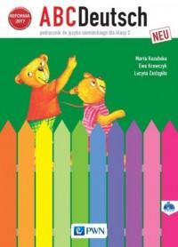 ABCDeutsch neu 2. Szkoła podstawowa. - okładka podręcznika