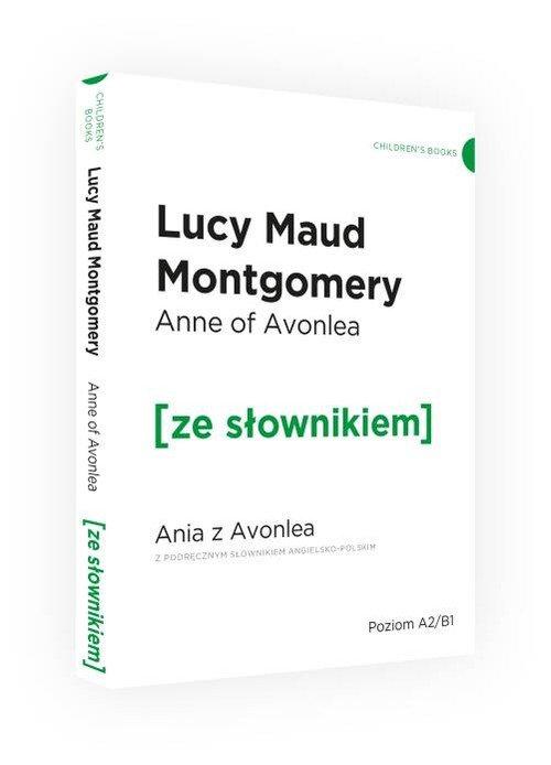 Ania z Avonlea wersja angielska - okładka podręcznika