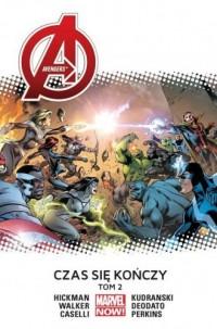 Avengers. Czas się kończy. Tom 2 - okładka książki