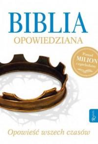 Biblia opowiedziana - Max Lucado - okładka książki