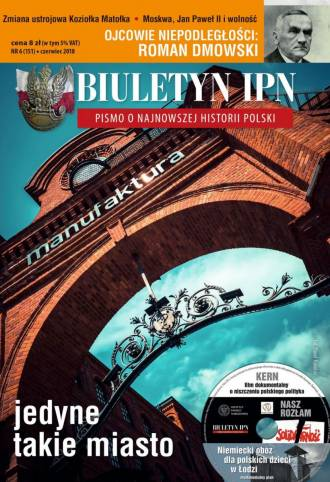 Biuletyn IPN nr 151 (6) / 2018 - okładka książki