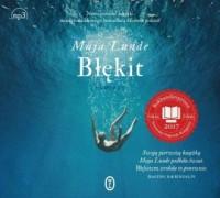 Błękit - Maja Lunde - pudełko audiobooku