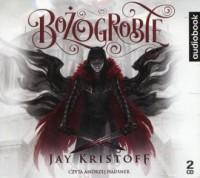 Bożogrobie - Jay Kristoff - pudełko audiobooku