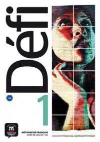 Defi 1 Livre de leleve (+ CD) - okładka podręcznika