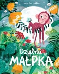 Dzielna małpka - okładka książki