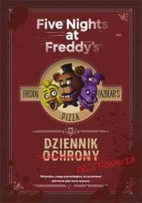Dziennik przetrwania Five Nights at  Freddys - okładka książki
