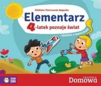 Elementarz 4-latek poznaje świat - okładka książki