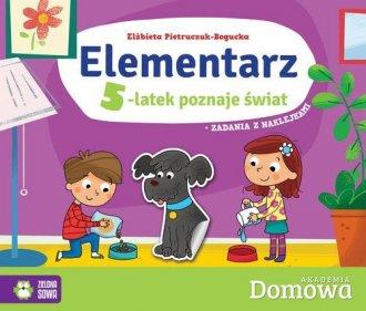 Elementarz 5-latek poznaje świat - okładka podręcznika