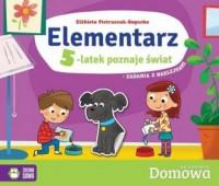 Elementarz 5-latek poznaje świat - okładka książki