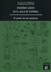Enseńar léxico en el aula de espańol - okładka książki
