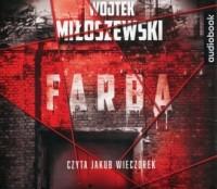 Farba - Wojtek Miłoszewski - pudełko audiobooku