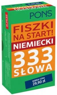 Fiszki na start 333 słowa - Wydawnictwo - okładka książki