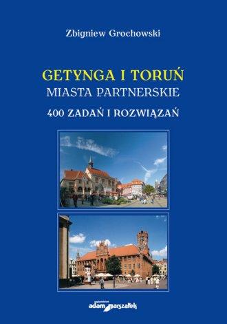 Getynga i Toruń - miasta partnerskie - okładka książki