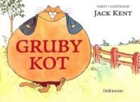 Gruby kot - okładka książki