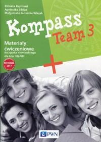 Kompass Team 3. Materialy ćwiczeniowe - okładka podręcznika