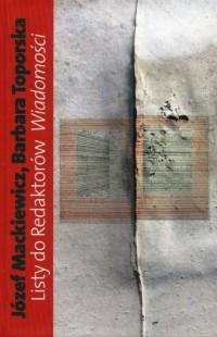 Listy do Redaktorów Wiadomości - okładka książki
