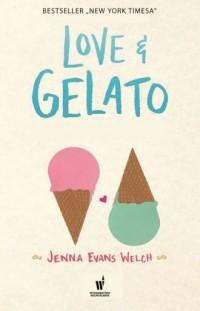 Love&Gelato - okładka książki