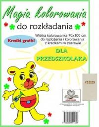 Magia kolorowania dla przedszkolaka - okładka książki