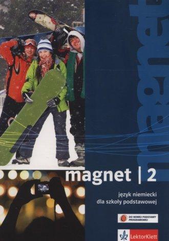 Magnet 2. Szkoła podstawowa. Podręcznik - okładka podręcznika