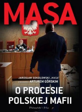 Masa o procesie polskiej mafii - okładka książki