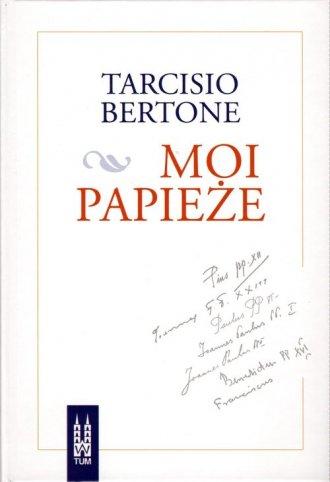 Moi papieże - okładka książki