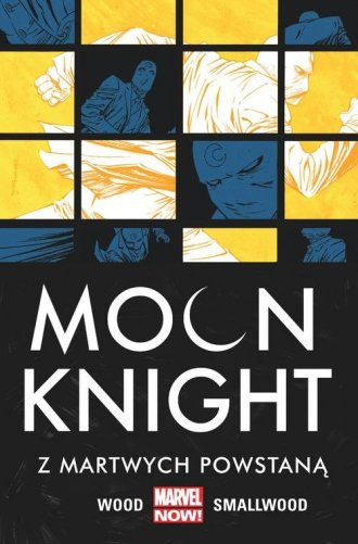 Moon Knight. Z martwych powstaną. - okładka książki