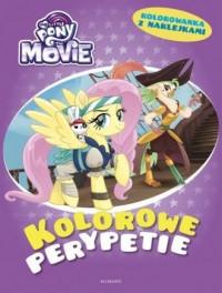 My Little Pony. Kolorowe perypetie - okładka książki