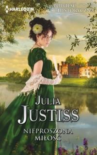Nieproszona miłość - Julia Justisss - okładka książki