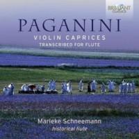 Paganini: Violin caprices transcribed for flute - okładka płyty