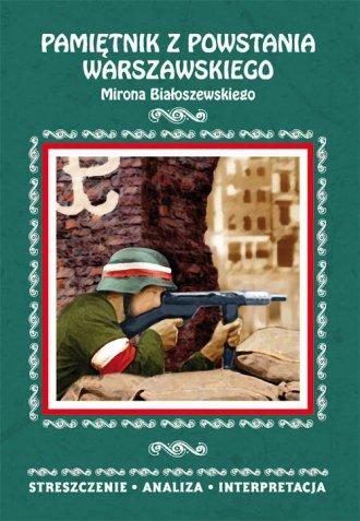 Pamiętnik z powstania warszawskiego - okładka podręcznika