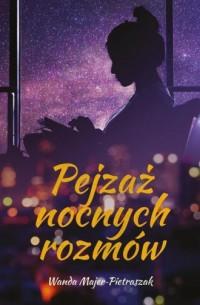 Pejzaż nocnych rozmów - okładka książki