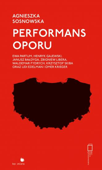 Performans oporu - okładka książki