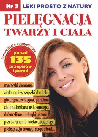 Pielęgnacja twarzy i ciała - okładka książki