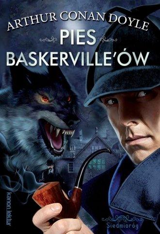 Pies Baskerville ów - okładka książki