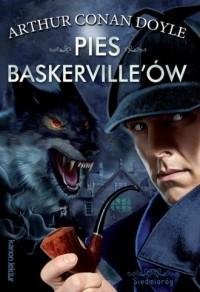 Pies Baskerville ów - Arthur Conan Doyle - okładka książki