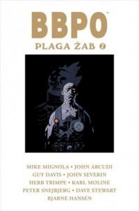 Plaga żab 2 - Mike Mignola - okładka książki