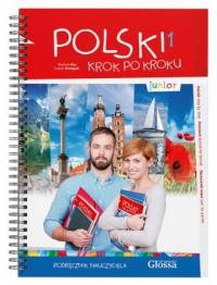 Podręcznik nauczyciela junior 1 - okładka podręcznika
