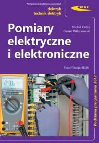 Pomiary elektryczne i elektroniczne - okładka książki